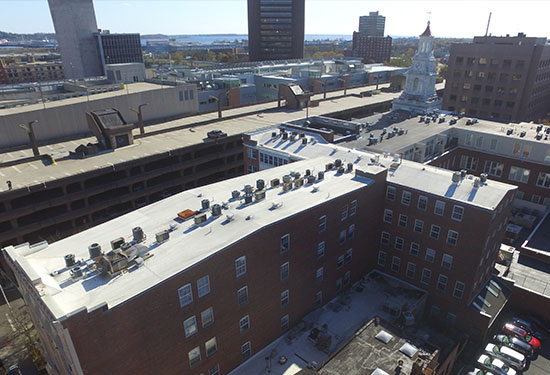 Kelly House TPO roof