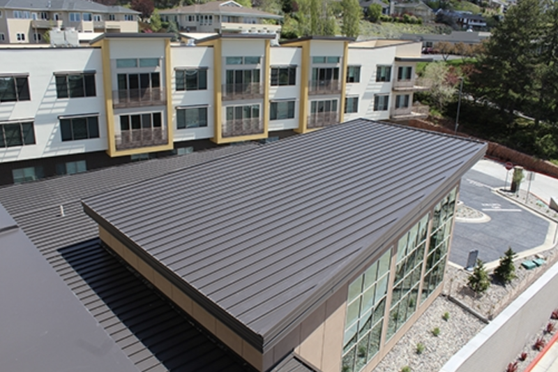 Metal Roof Low Slope Option
