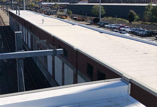 PVC Roof at CT DOT in Bridgeport