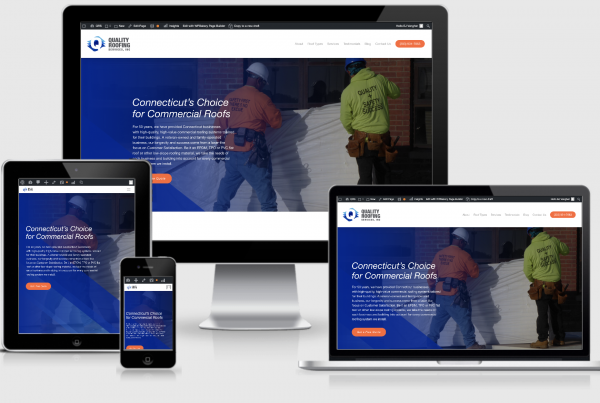 Quality Roofing Services New Website