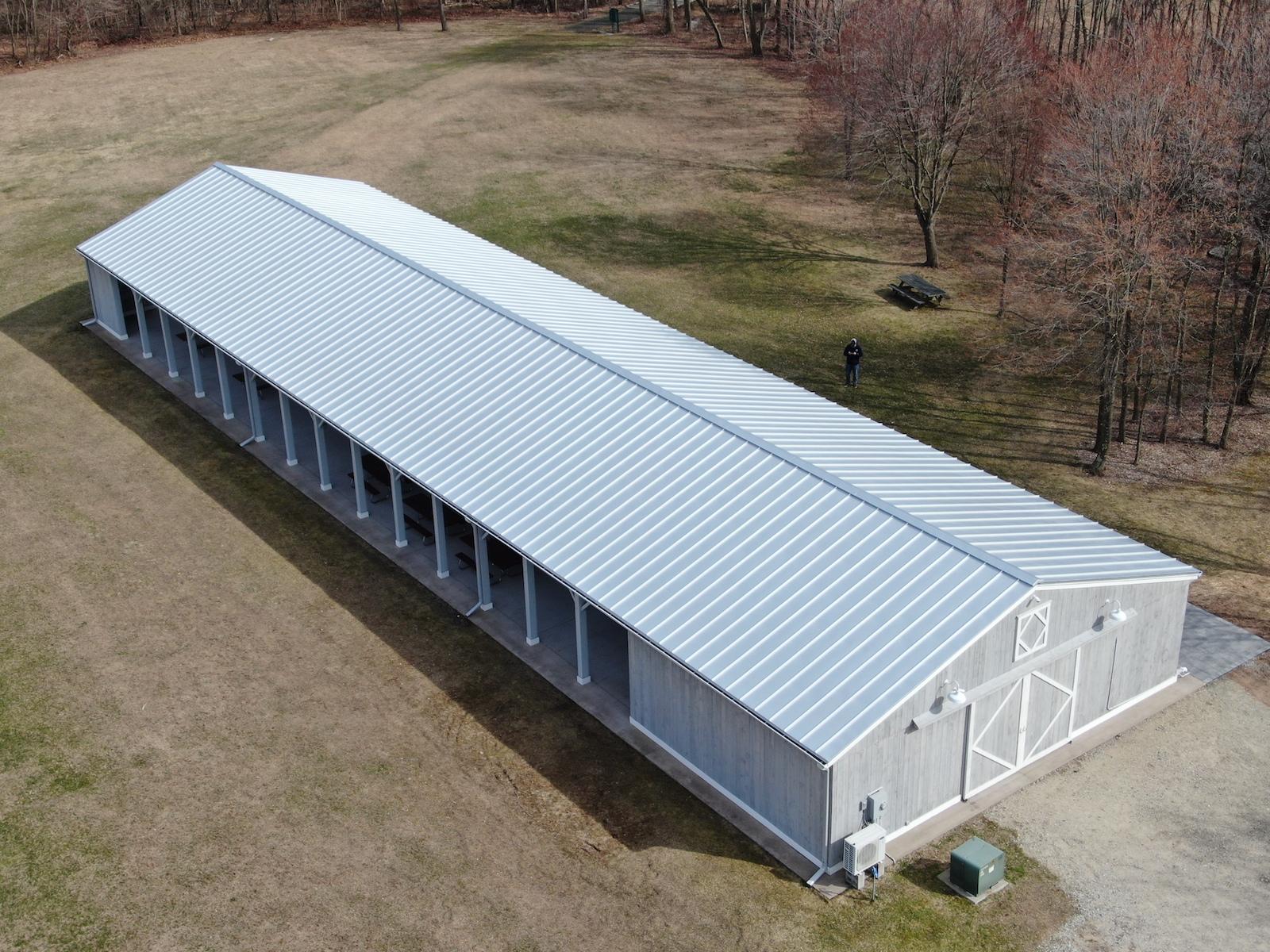Parmelee Farm Pavilion Roof